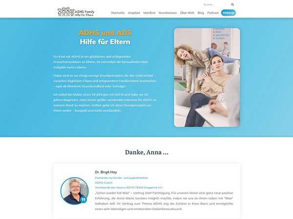 ADHS Family – Hilfe für Eltern