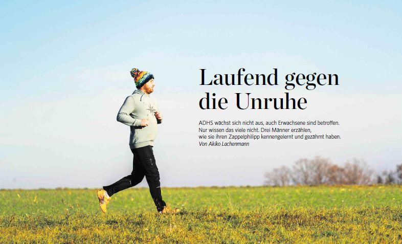 Laufend gegen die Unruhe | Stuttgarter Zeitung Dez 2020